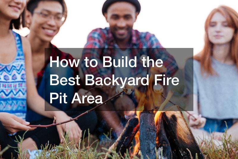 DIY backyard fire pit patio